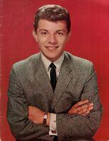 FRANKIE AVALON 1959 VINTAGE SIGNED VENUS TOUR CONCERT PROGRAM BOOK / EX 2 NMT
