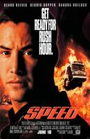 "Speed movie poster  - 11"" x 17"" inches - Keanu Reeves"