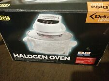 Delta Kitchen Halogen Oven, includes seperatley bought halogen oven cook book