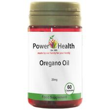 Power Health Essential Öl von Oregano 25mg 60 Kapseln