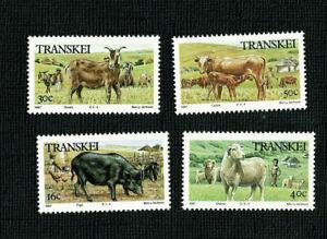 1987 Transkei Domestic SG 209/12 MUH Set 4