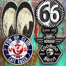 CUSTOM  STICKER PACK BY VOODOO STREET™ brat, cafe racer, hot rod, kustom special