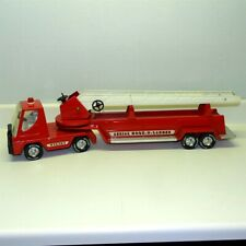 Vintage Nylint Hook N Ladder Fire Truck, Pressed Steel Toy, Cab Over