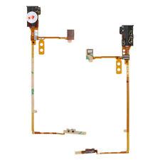 Black Handsfree Audio Jack Volume Button Flex Cable For iPod Nano 5 5th Gen