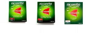 Nicorette Invisipatch : Step One - 25 MG , Step Two - 15 MG, Step Three - 10 MG