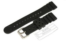 Divers 22mm Flat ZLM29 Strap for Seiko 6309/7S26/7002/SKX007 large divers