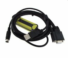 USB Programming Cable for Allen Bradley AB Micrologix 1000 1100 1200 1500 Black