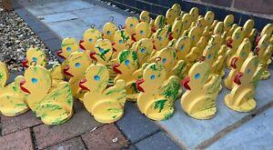 Hook a duck wooden duck fair ground fun fair decorative children nursery