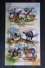 Wildtiere 81 wild animals wildlife Antilope Gazelle Mosambique Fauna gestempelt