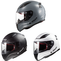 2021 LS2 Rapid Solid Full Face Street Motorcycle Helmet - Pick Size & Color