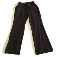 Liz Lange Maternity Womens Pants Size 10 Brown Boot cut dress pants stretch