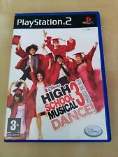 JUEGO PS2 High school musical dance 3 PLAYSTATION 2 COMPLETO CASTELLANO