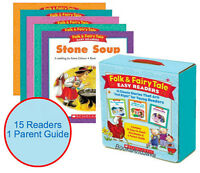 """Folk and Fairy Tale Easy Readers Box Set 15 Classic Stories That Are """"Just Right"""