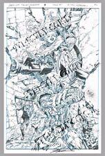 Suicide Squad: Rebirth 1 page 9 Jim Lee style Original Art Batman Adventures 12!