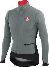 Castelli Men's Alpha Cycling Jacket Laurel Grey Size Medium