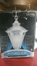 Kichler Lighting-131984 Outdoor Pendant Brushed Alum Lantern