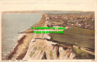 R467813 Seaford from the Cliffs. J. Salmon. Gravure Style. 1934
