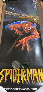 Marvels Spider-Man PSX N64 door Size Prize poster 2000 2ft x 6ft 2'x 6'