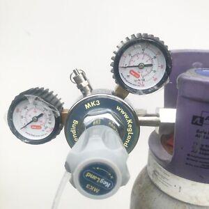 Kegland Mark 3 CO2 Primary Gas Regulator JG compatible Pushfit Outlet KL02110