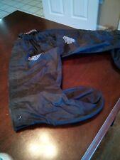 Harley Davidson rain gear.  Rain Gaiter Leg Boot Cover with Lug Sole.  Large