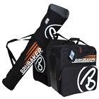Black Orange Ski Bag Combo CHAMPION for Ski up to 170 cm Poles, Boots + Helmet