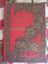 1900 Pour la Patrie Colomb illustrations couleurs Zier cartonnage éditeur