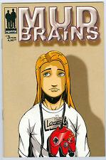 Comic -  Mud Brains - #3 von 1999 mit Poster egotrip Beck Bendeguz
