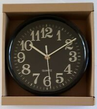 UBL 20cm Wall Clock Black
