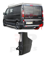 FOR RENAULT TRAFIC 2014 - 2020 NEW REAR BUMPER SIDE BLACK CORNER RIGHT O/S