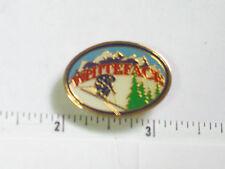 White FaceMountain Ski Resort NY Skiing Pin (Ski#953)
