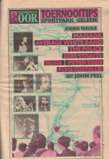 MUZIEKKRANT OOR 1979 - PINKPOP KRANT - POLICE / RUSH / DIRE STRAITS / PETER TOSH