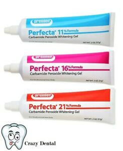 Premier Dental 4007165 Perfecta At Home Tooth Whitening Gel Refill Mint 16% 2oz