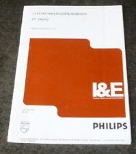 Schaltbild für Philips 3-fach Labornetzteil, PE1542/60 ; Trafo ;  Netzgerät **
