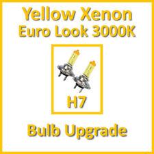 Warm White 3000K Yellow Xenon Headlight Bulbs Main Dip Beam or Fog H7 55W (x2)