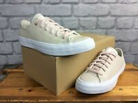 CONVERSE LADIES UK 6 EU 39 ALL STAR CHUCK TAYLOR OX PUTTY SHIMMER TRAINERS LG