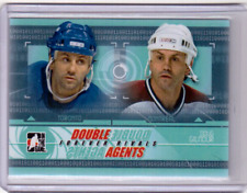 DOUG GILMOUR 12/13 ITG Forever Rivals Double Agents #DAG-04 Insert Hockey Card