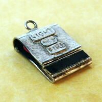 Rare Vintage Silver Opening Matches Light My Fire The Doors Sterling Charm