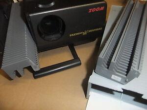 slide 35mm cassette straight magazine BRAUN PAXIMAT X2 50 slide capacity +CASE