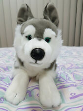 Anima Stuffed Animal Husky Dog Plush (42cm) New condition!
