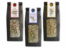 Rohkaffee - Grüner Kaffee Sumatra, Cost Rica, Brasil (grüne Kaffeebohnen 3x500g)