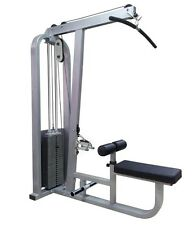 Semi Commercial Elite Pro Lat Pulldown Machine 130Kg Gym Equipment  Home Gym