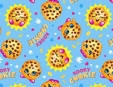 KOOKY COOKIE SHOPKINS COOKIE A WITH LOOK COTTON FABRIC SPRINGS CREATIVE  YARDAGE