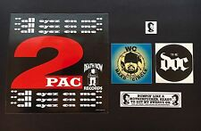 Classic West Coast 90's Rap Promo Pack! (2Pac, Dr. Dre, Snoop, Wc Maad, The Doc)