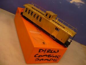 BRASS ON3 Precision Rio Grande #215 Pagosa Combine Sample Model U/P  NO RESERVE