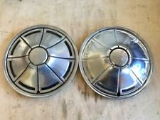 """Pair of Vintage Hubcaps - 14"""" Dodge Plymouth Duster"""