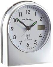 Technoline WT 755 Sveglia radiocontrollata plastica Nero/argento 9.5 x (k2r)