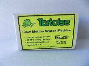 TORTOISE SLOW MOTION SWITCH MACHINE #800-6000 NEW
