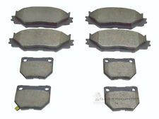 LEXUS IS220d DIESEL & IS250 2005-2010 FRONT & REAR BRAKE DISC PADS FULL SET NEW