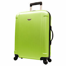 "Travelers Choice Green FREEDOM 29"" Lightweight Spinner Luggage Suitcase TSA Lock"