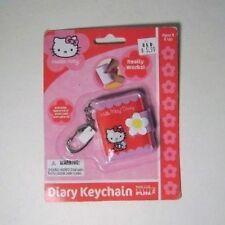 Vintage Hello Kitty Mini Diary  Key Chain